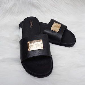 Nicole Miller Studio Slide Sandals